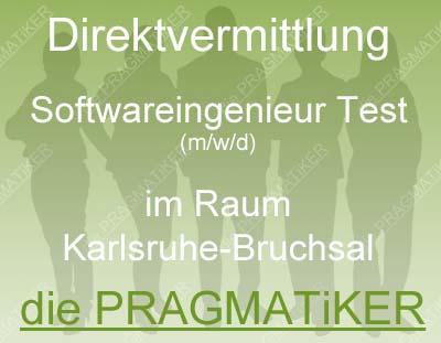 Softwareingenieur (m/w/d) im Test zur Direktvermittlung