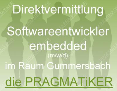 Softwareentwickler embedded (m/w/d) zur Direktvermittlung